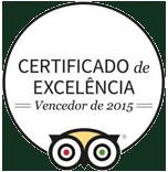 Certificado e Excelência Tripadvisor